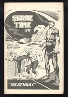 Space And Time #30 May 1975 Fanzine RARE Frank Miller Art Brent Anderson Fine+