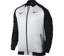 Rafa Nadal Premier Jacket by Nike - white L as worn for 2017. ONE ONLY