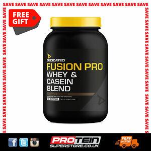 Dedicated Fusion Pro Whey / Casein Blend Protein Powder