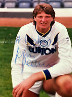JOHN PEARSON SIGNED LEEDS PHOTO UNITED AUTOGRAPH UTD COA