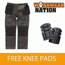 APKHT Kneepad /& Holster Pockets Apache Heavy Duty Work Trousers