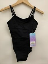 Ivivva Pulse On Pointe Leotard 2 Black NWT Sizes 6 7 8 10 12 14 Luxtreme Brushed