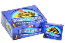 Hem Frank-Myrrh Incense Cones, Bulk Lot 3 Pack of 10 Cones = 30 Total