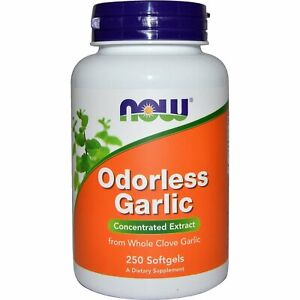 Now Foods, Odorless Garlic Original, 250 Softgels
