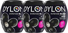 New Dylon 350g Intense Black Machine Dye Pod 3 Pack