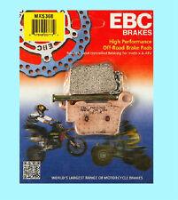 EBC MXS368 Sinterizzato Motox Pastiglie Freni Posteriori KTM EXC EXC450 2004-15