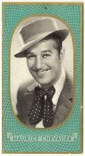 Maurice Chevalier - 1930s original cigarette card #260