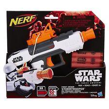 STAR WARS NERF STORMTROOPER BLASTER First Order Hasbro Disney Nerf Foam Dart Gun