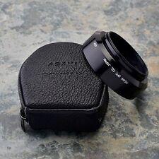 Asahi Pentax Takumar 49mm Standard Lens Hood & Case 1.4/50 1.7/50 1.8-2/55 #1495
