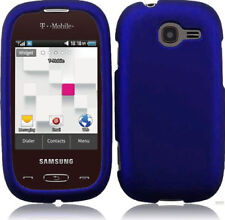 For T-Mobile Samsung Gravity Q T289 Protector Case Phone Cover Rubber Blue