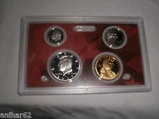 2009 S US MINT PARTIAL SILVER CAMEO PROOF KENNEDY DIME DOLLAR NICKEL FREE SH