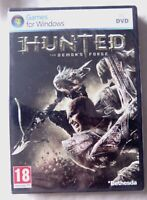 68446 - Hunted The Demon's Forge [NEW / SEALED] - PC (2011) Windows 7
