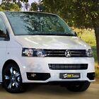 Volkswagen T5 (2009+) - Front bumper spoiler Sportline look