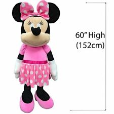 "Disney Pink Minnie Mouse 60"" inches Super Jumbo Soft Plush Licensed New w/tags"