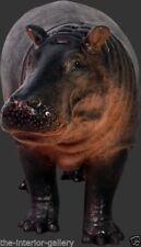 Baby Hippo Statue - Life Size Hippopotamus Statue - Baby Hippopotamus Statue 4Ft