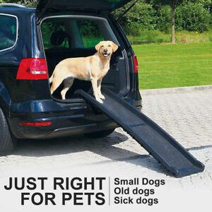 Folding Pet Car Dog Ramp Portable Folding step Ladder Light Travel Car Truck SUV