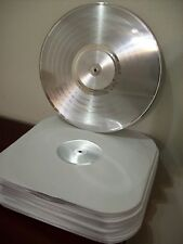 Blank Silver Platinum Plated LP Record RIAA Quality to Custom Award Trophy Album