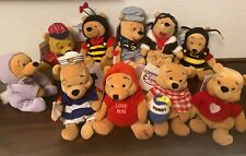 Disney Store Beanie Babies 1996 - Winnie the Pooh Specialty Beanies