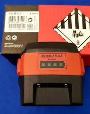 Hilti B3652 Ah 36 Volt Lithium Ion Battery Pack Mpn 2098470 Oem