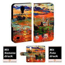 Samsung Galaxy S4 mini Personalisierte Handyhülle mit Gemälde Foto Bild Druck