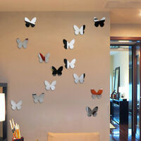 12x 3D Butterfly Wall Stickers Home Decor Room Decoration Sticker Bedroom Girl
