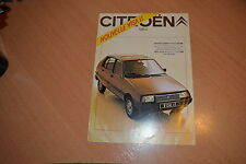 DEPLIANT Citroën Visa II de 1981