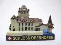 Schloss Oberhofen Poly Fertig Modell,Souvenir Schweiz Suisse,Neu