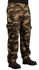 PJ Mark Men's Heavy Fleece Camouflage Cargo Pants