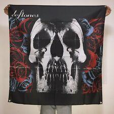 Deftones Band Banner Album Cover Tapestry Skull Logo Flag Art Poster 4x4 ft