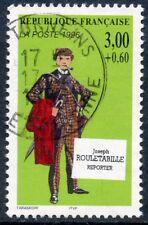 TIMBRE FRANCE OBLITERE N° 3027 CELEBRITE ROULETABILLE / Photo non contractuelle