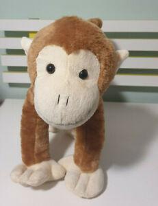 "Fiesta Monkey PLUSH TOY Ape Chimp Plush 16.5"" Stuffed Animal 43CM LONG"