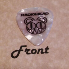 RADIOHEAD band Signature logo guitar pick  -(Q)