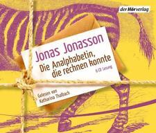 Die Analphabetin, die rechnen konnte von Jonas Jonasson - Hörbuch auf 6 CDs