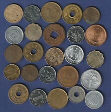 HONG KONG + JAPON + CHINA   Lote de  monedas
