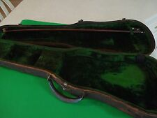 A Vintage Violin/Fiddle Carrying Case and Violin/Fiddle Bow