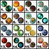Pair Glass Ear Plugs Gauges Body Jewelry Stretchers Tunnels Double-flared