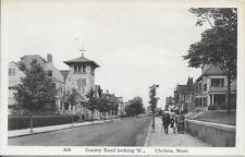 County Road looking West Chelsea Ma Nice Vintage postcard not postally used