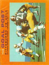 1971 UCLA vs Pittsburgh Football Program