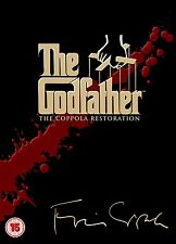 The Godfather Trilogy: Remastered Collection Box Set | New | Sealed | DVD