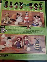 Clay Pot Creations 17 Whimsical Step by Step Creations Leaflet