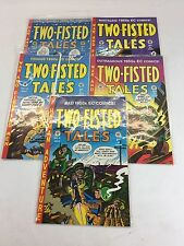 ****Lot of 5 issues Vintage TWO-FISTED TALES 1992-95 Excellent Condition!!!!