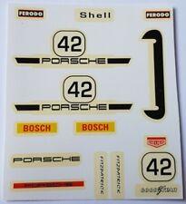 Calcas Porsche Carrera, Exin Scalextric, Triang, Avant Slot Barniz original