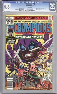 CHAMPIONS #15 - CGC 9.6 - 1977 / DARKSTAR / ORIGIN OF SWARM