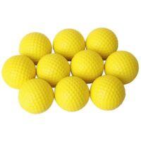 10 Pcs. Balle de golf Entrainement Softballs Balles molles d'Entrainement N4D4