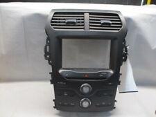 2013 Ford Explorer Radio Control Panel w/Temperature Controls OEM