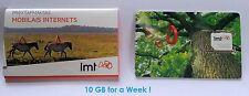 PREPAID  SIM CARD 10GB. 3G/4G MOBILE INTERNET FOR LMT LATVIA