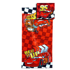 Disney Cars Kids Towel Washcloth Set - Lightning McQueen