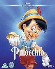 PINOCCHIO BLURAY Disney O Ring Version Limited Edition Pinnochio Sealed Uk New
