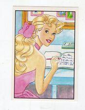 figurina - BARBIE 1989 PANINI - NUMERO 14