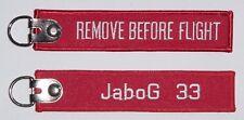 Schlüsselanhänger JaboG 33 - Remove Before Flight  ..........R1043